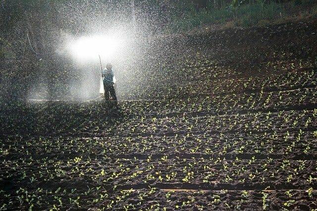 化学肥料散布画像2